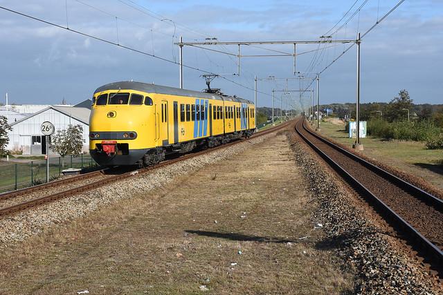 NSM 876 at Hillegom, October 16, 2021