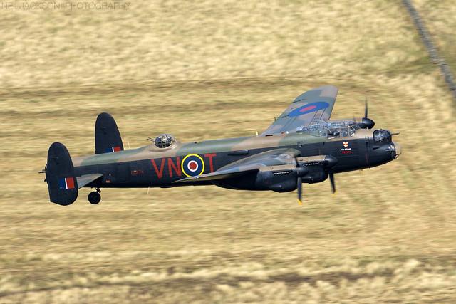 RAF BBMF Avro Lancaster PA474
