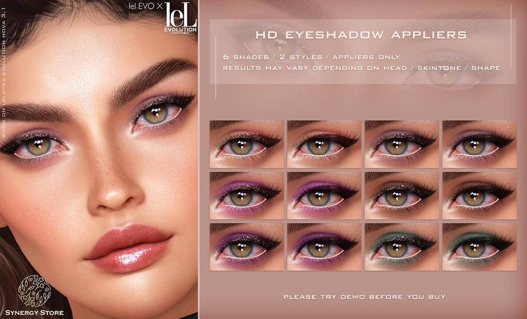 Synergy – Lelutka HD Eyeshadow Applier for EVO/EVO X heads – Avignon♥