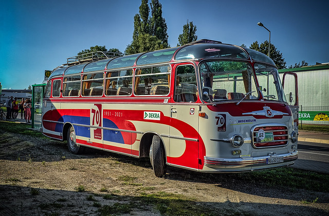 a wonderful classic Setra S9 bus from 1959 - Werner Maier