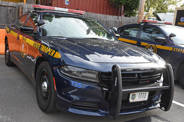 Picture Of New York State Trooper Car (1T13) - 2020 Dodge Charger. This Picture Was Taken In Westchester County. Photo Taken Saturday October 16, 2021