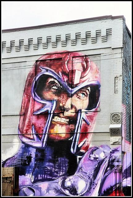 Mural of Magneto