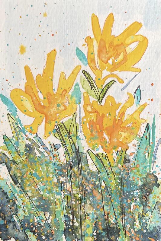 Sunflower by Sheila Delgado