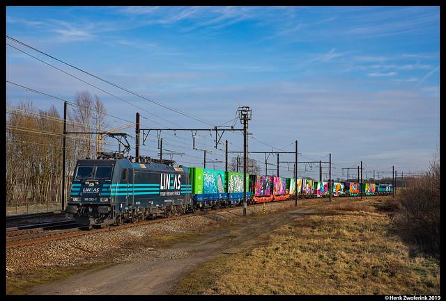 Lineas 186 293, Mortsel 20-02-2019