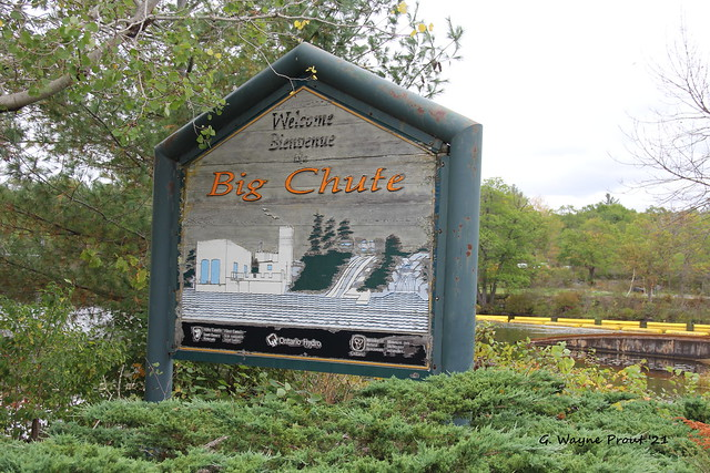 Big Chute signage