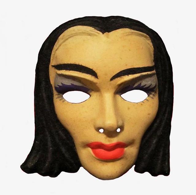 Morticia Addams Halloween Addams Family Masks 1960s