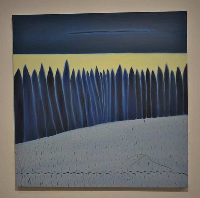 North 2019, Blue View by Matthew Wong, Art Gallery of Ontario, AGO, 317 Dundas Street West, Toronto, ON