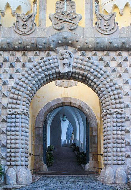 Entrance to Palácio da Pena