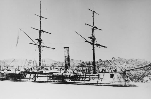 Japanese Ironclad Azuma (1865)