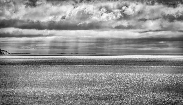 Sparkling Light On Water (View South, Lake Michigan)