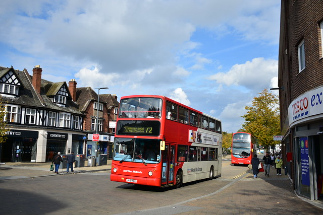 National Express West Midlands (4281 BU51RXH) - Route 72