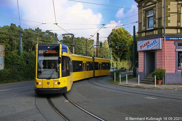 Europa, Deutschland, Nordrhein-Westfalen, Essen, Dellwiger Straße Ecke Wertstraße