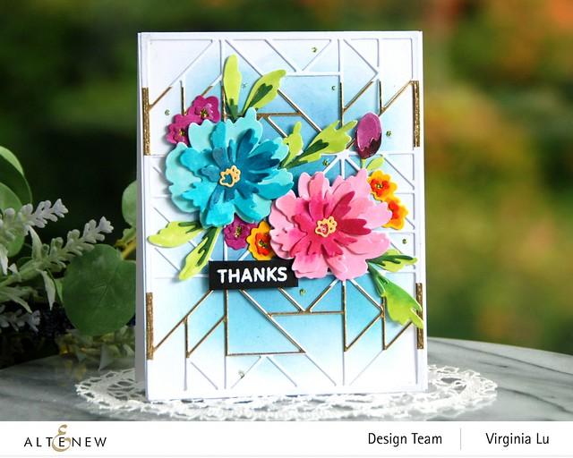Altenew-10232021-SimpleShapeCoverDie-Painted Blooms Die Set-PAFAfrican Daisy