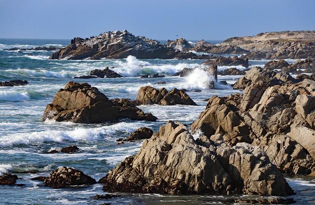 California Coast near Pacific Grove, August 2021