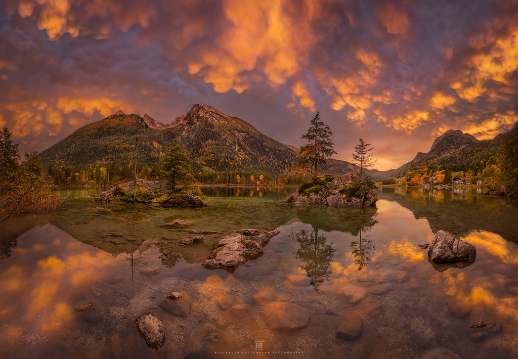 Hintersee on Fire