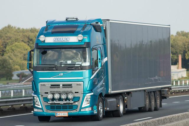 Volvo FH4 globetrotter, from Keränen, Finland.