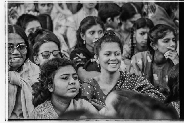 Meghna and Rahnuma at Shahid Minar