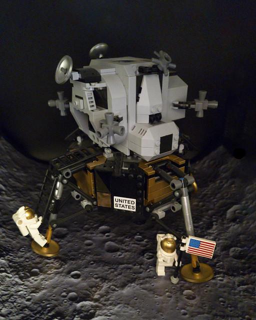 Lego On The Moon