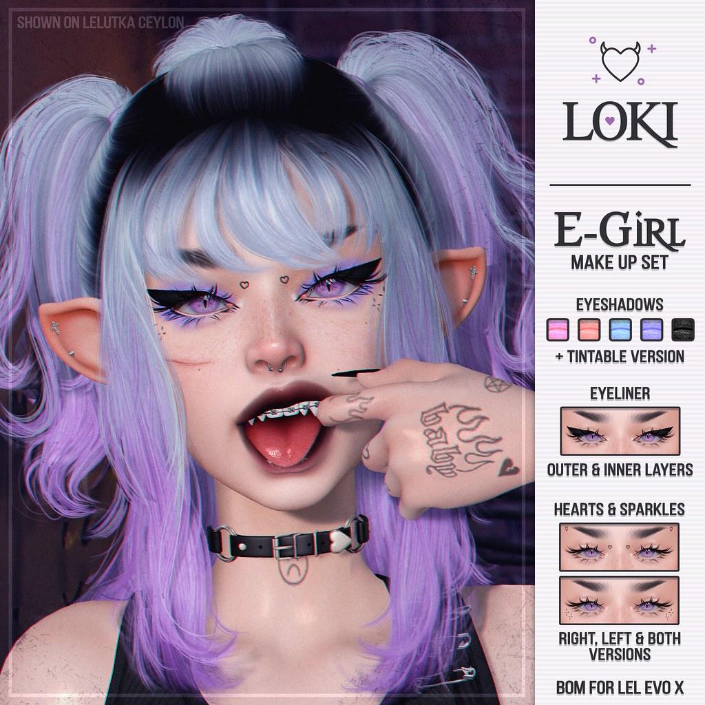 Loki • E-Girl Make Up Set • #SoKawaiiSundays | 17.10.21