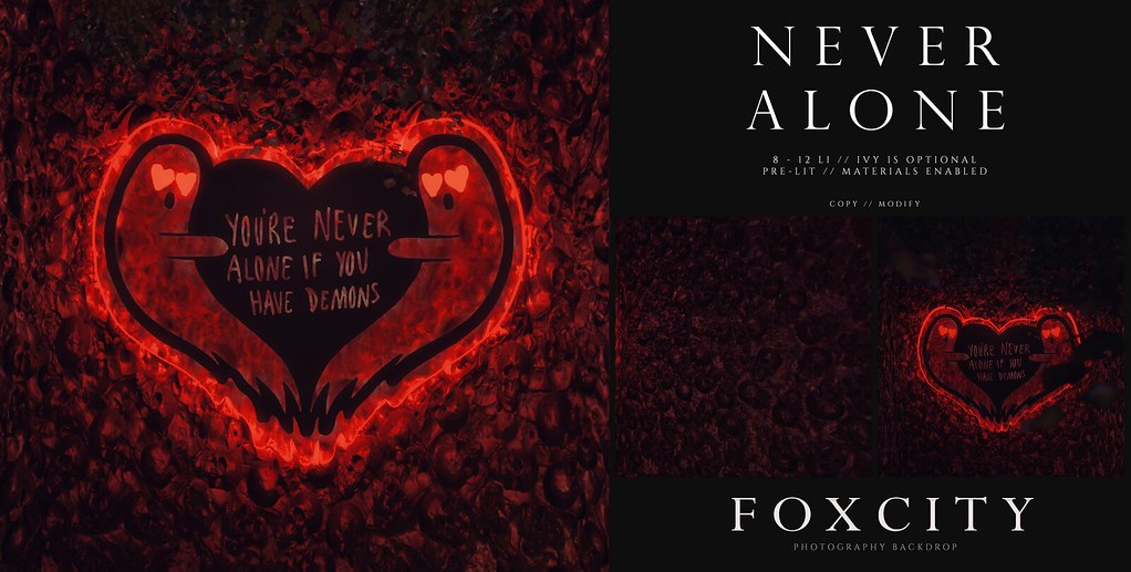 FOXCITY. Photo Booth – Never Alone