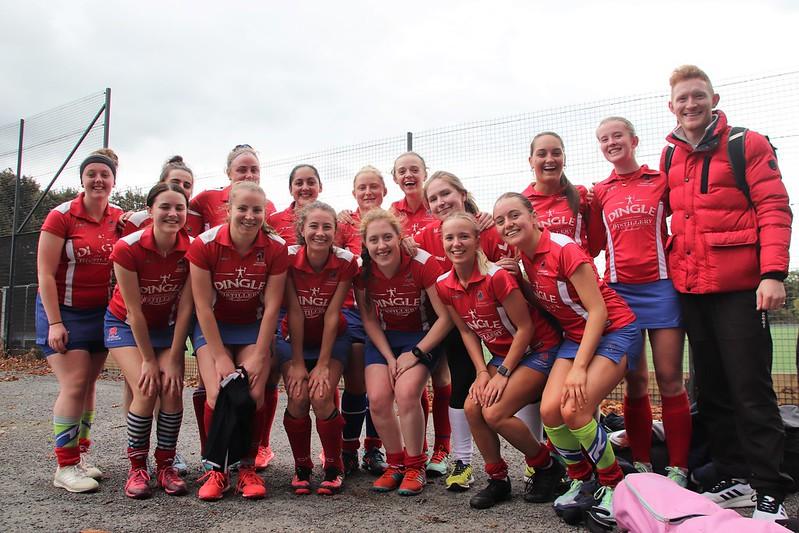 Clontarf v Rathgar Irish Hockey Trophy Rd 1 16-10-21
