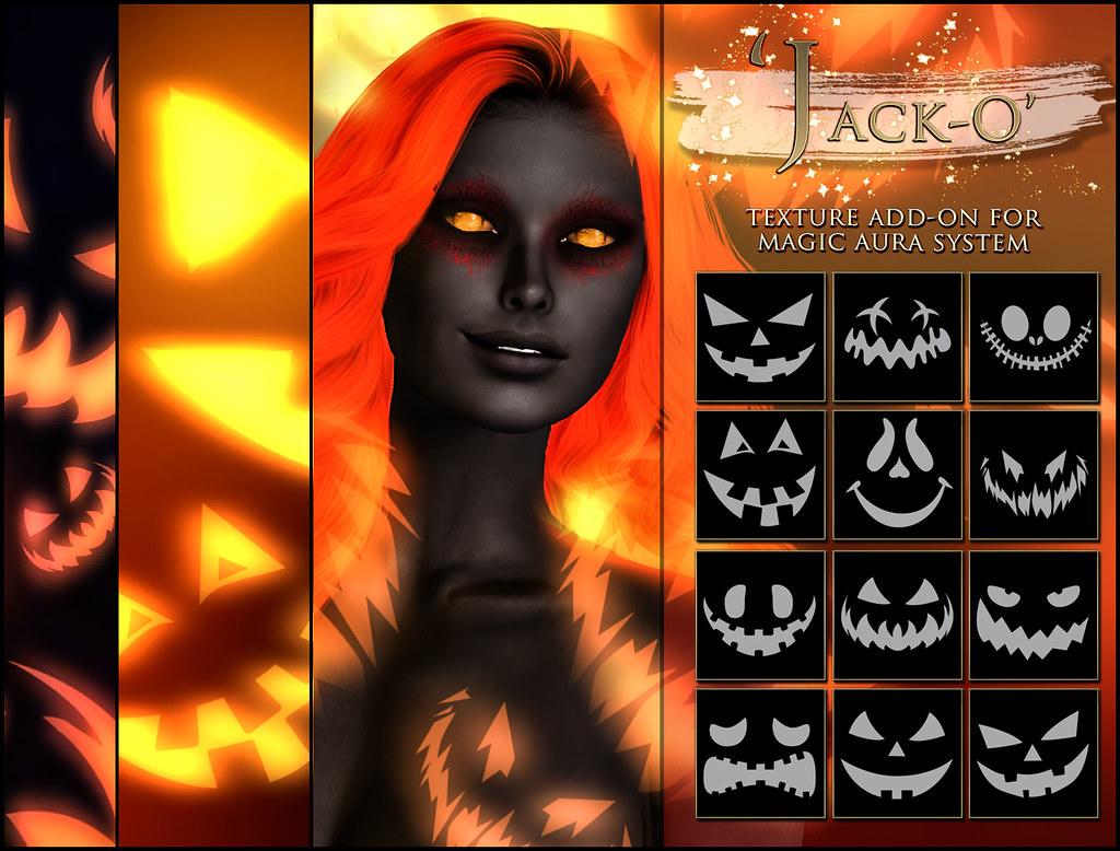 -Elemental - 'Jack-O' Texture Addon For Magical Aura Advert