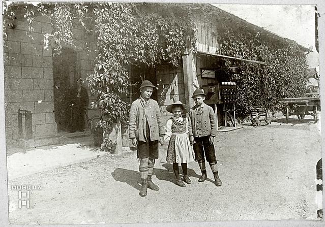 Archiv24TappenAlbum12t201 Bilder aus Bayern, Bahnhof Oberaudorf, 1890-1910er