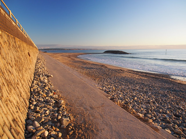 Golden hour .... Tywyn beach.