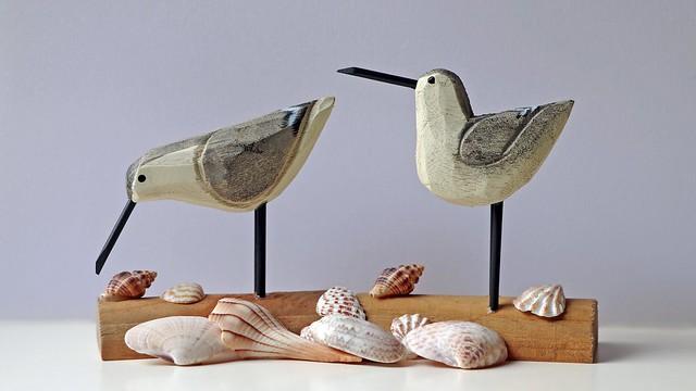 Sandpipers & Seashells