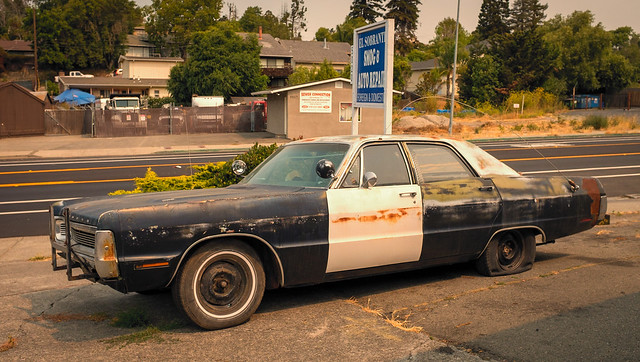 Looks like the Blues Brothers left their car in El Sobrante