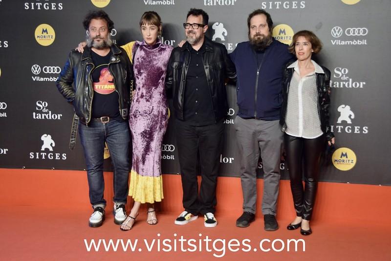 Paco Plaza ha presentado 'La abuela' y Emilio Gutiérrez Caba recibe el premio Nosferatu