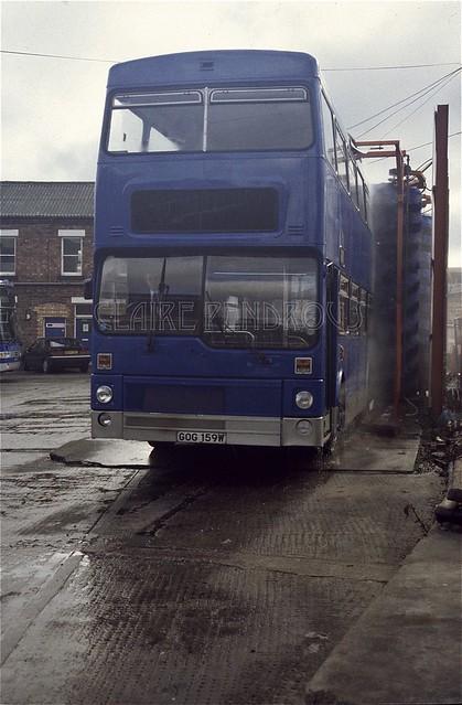 Central Coachways 2159, Miller Street Garage, Birmingham, 1997