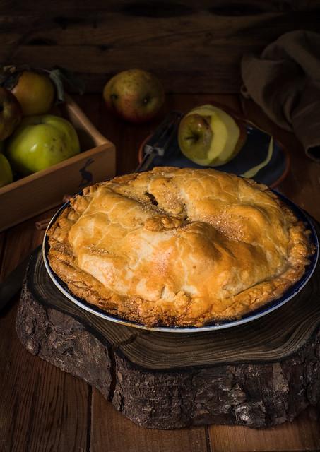 Simple Apple pie..   the best!