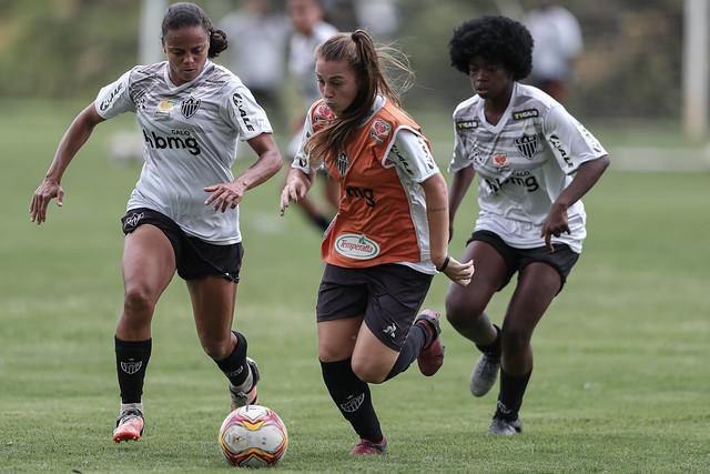 Treino - Galo Futebol Feminino na Cidade do Galo 16.10.2021