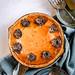 Cookie Brownie Cheesecake Pie