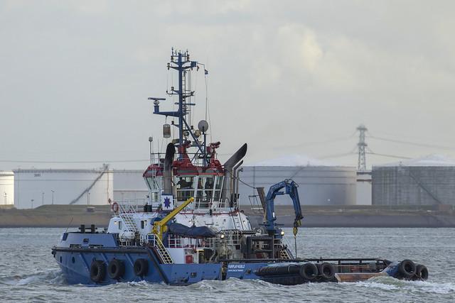 FAIRPLAY NUBLO  Fire Fighting Vessel - Nieuwe Waterweg - Hoek van Holland