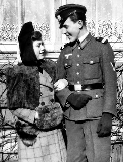 Young lovers in Germany circa WW2