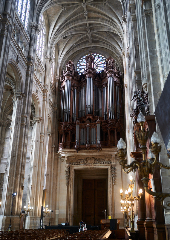 Paris-Église Saint-Eustache-Organ