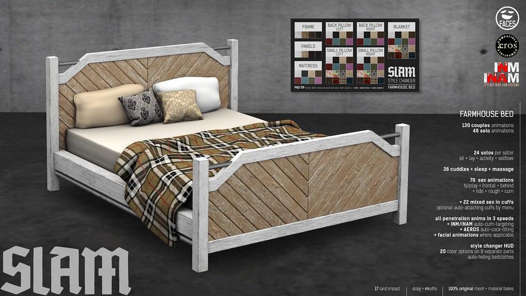 SLAM // farmhouse bed @ MAN CAVE