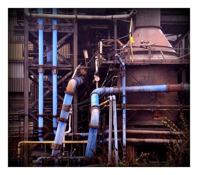 L' usine Thann et Mulhouse , Le Havre.