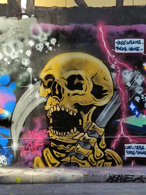 Street art Paris 10/2021