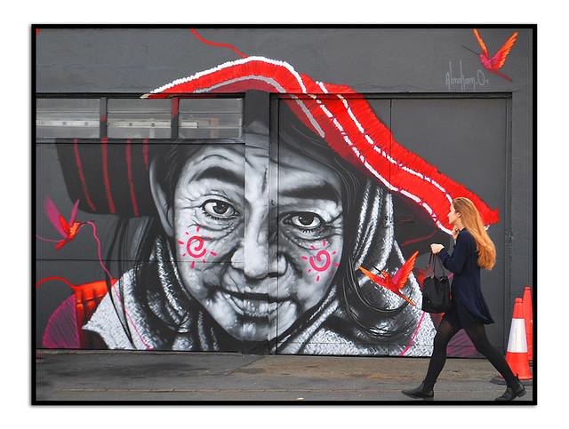 LONDON STREET ART by ABRAHAM 01