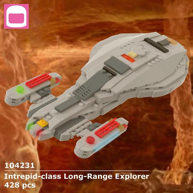 Intrepid-class Long-Range Explorer Box Art