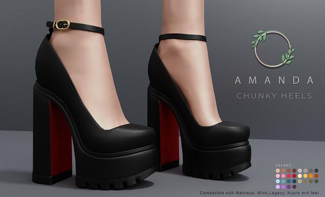 Ohemo - Amanda chunky heels ad