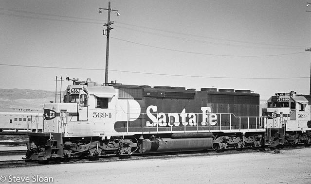 ATSF 5694 SD45-2 in 1974