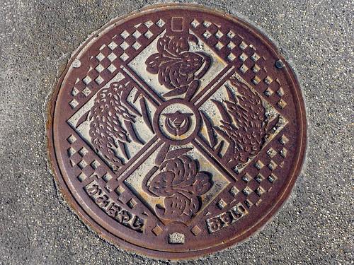 Kamihayashi Nigata, manhole cover (新潟県神林村のマンホール)
