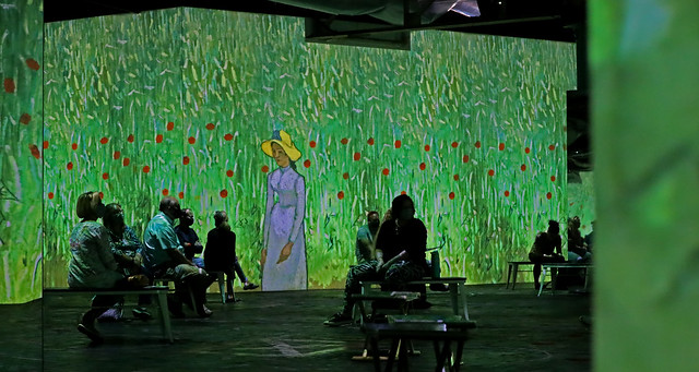 Immersive Van Gogh Charlotte, great light and sound show, must see event.  Wonderful collages of his art.  Very tranquill with nice soundtrack.