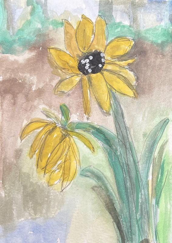 Sunflower by Christine Brooks