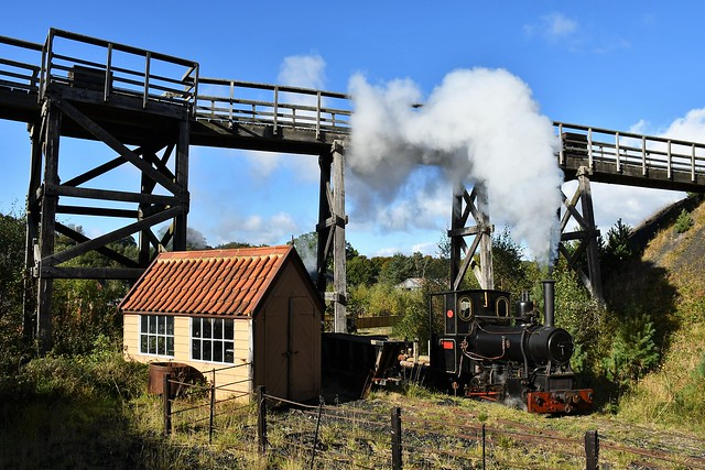 Andrew Barclay 0-4-0WT Glyder, Beamish Museum, 30742 Charters