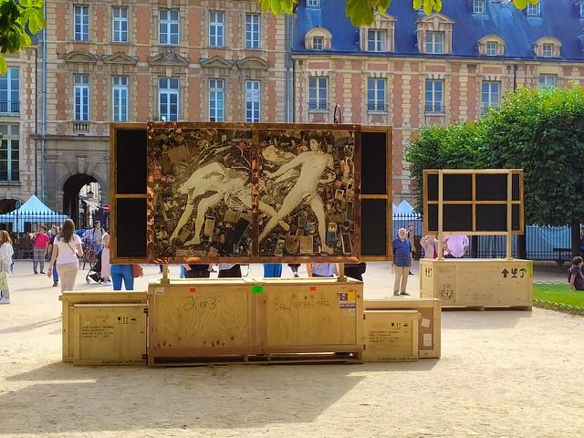 26 - Paris en Septembre 2021 - Place des Vosges